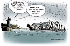 schwarwel-karikatur-costa concordia-schiff-untergang