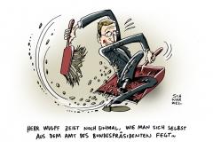 schwarwel-karikatur-wulff-ruecktritt-bundespraesident