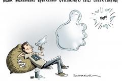 schwarwel-karikatur-facebook-zuckerberg-boerse-lebenswerk