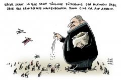 schwarwel-karikatur-staat-sozialleistungen-bundesverfassungsgericht-asylbewerber