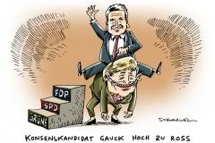 schwarwel-karikatur-gauck-bundespraesident-konsenskandidat-merkel