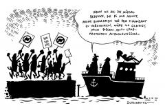 schwarwel-karikatur-antisparproteste-finanzamt-spanien
