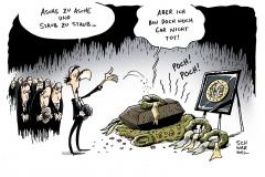 schwarwel-karikatur-euro-tot-geld-wirtschaft