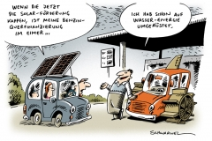 schwarwel-karikatur-solar-foerderung-benzin