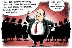 schwarwel-karikatur-gysi-verfassungsschutz-ostdeutsch- politiker