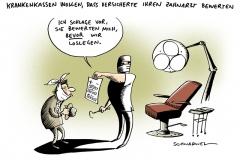 schwarwel-karikatur-zahnarzt-bewertung-krankenkassen