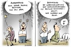 schwarwel-karikatur-arm-reich-mehrverdiener-einnahmen