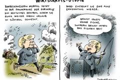 schwarwel-karikatur-utopie-merkel-urlaub