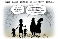 schwarwel-karikatur-armut-alleinerziehende-deutschland-kinder