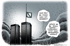 schwarwel-karikatur-gewinneinbruch-bank-flagge