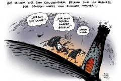 schwarwel-karikatur-hoeneß-steuerhinterziehung-schuldenturm