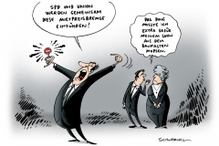 schwarwel-karikatur-mietpreisbremse-mieterschutz-koalitionsverhandlungen
