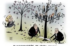 schwarwel-karikatur-koalition-finanzierungsplaene