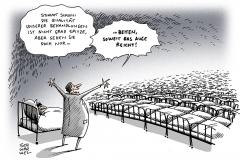 schwarwel-karikatur-krank-krankenhaus-patienten