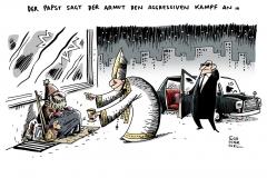 schwarwel-karikatur-pabst-armut-kampf