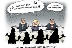 schwarwel-karikatur-groko-regierungsgeschaefte-koalition