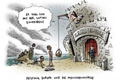schwarwel-karikatur-lampedusa-fluechtlingsdrama-tote