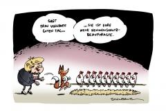 schwarwel-karikatur-vosshoff-beauftragte-fuchs-huehner