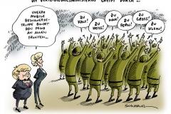 schwarwel-karikatur-verteidigung-ministerin-kanzlerin