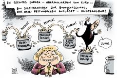 schwarwel-karikatur-merkel-bundestagswahl-nachfolge-fettnapf