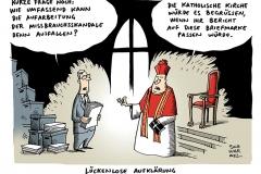 schwarwel-karikatur-kirche-missbrauchsskandal-aufklaerung