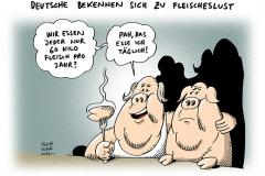 schwarwel-karikatur-fleisch-fleischeslust-fleischkonsum-deutschland