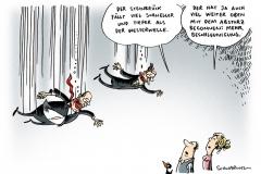 schwarwel-karikatur-westerwelle-steinbrueck-waehlergunst-fall