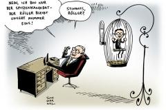 schwarwel-karikatur-spitzenkandidat-roesler-bundestagswahl