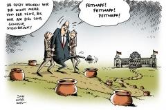 schwarwel-karikatur-vizekanzler-steinbrueck-fettnapf-politiker