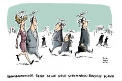schwarwel-karikatur-umweltminister-strompreisbremse-strompreis