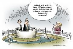 schwarwel-karikatur-partei-abstand-cdu-fdp