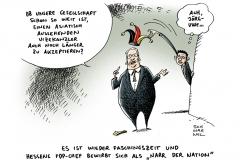 schwarwel-karikatur-rassismus-alltagsrassismus-fdp-narrenzeit