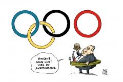 schwarwel-karikatur-ringen-olympia-wettkämpfe
