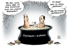 schwarwel-karikatur-napolitano-steinbrueck-clown-italien