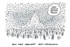 schwarwel-karikatur-papst-papstwahl-wintereinbruch-rom-vatikan