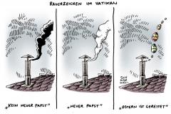 schwarwel-karikatur-papst-wahl-vatikan