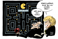 schwarwel-karikatur-euro-rettung-merkel-schaeuble-eu