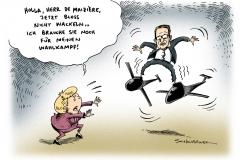 schwarwel-karikatur-drohnen-minister-wahlkampf