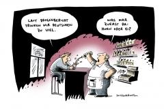 schwarwel-karikaturwaffen, waffen-drogenbericht-alkohol-regierung-bericht