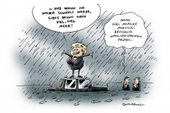 schwarwel-karikatur-wahl-verspechen-merkel-bundeskanzlerin