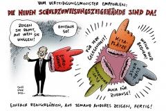 schwarwel-karikatur-verteidigungsminister-euro-hawk-drohnendebakel