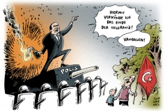 schwarwel-karikatur-vandalen-demokratie-verkuendung