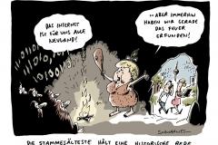 schwarwel-karikatur-internet-neuland-merkel-rede