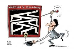 schwarwel-karikatur-mindestlohn-niedriglohn-selbstaendige