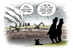 schwarwel-karikatur-energie-energiewende-braunkohle-paradox-1990