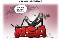 schwarwel-karikatur-nsa-affaere-obama-geheimdienst