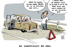 schwarwel-karikatur-adac-vertrauensverlust-zahlenmanipulation