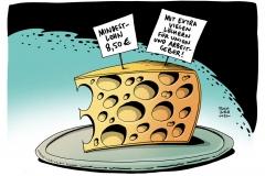 schwarwel-karikatur-mindestlohn-union-arbeitgeber-arbeitnehmer