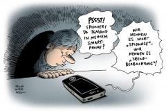 schwarwel-karikatur-spionage-smartphone-nsa