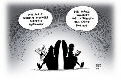 schwarwel-karikatur-waffen-waffenhandel-sipri-bericht